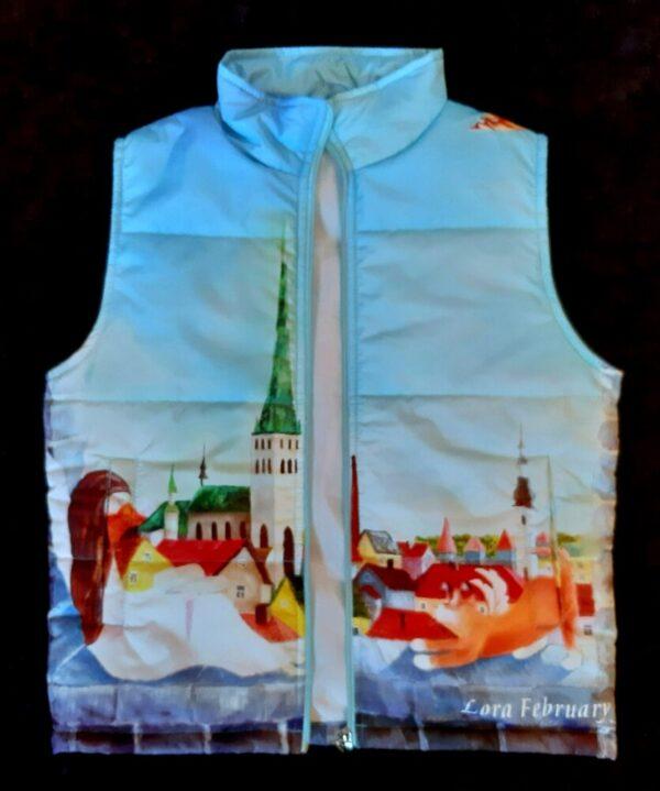 жилетка детская одежда