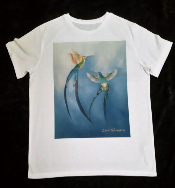 футболка, футболка унисекс. футболка с принтом
