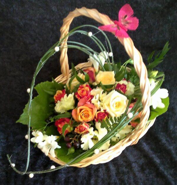 цветы, букет, корзина с цветами