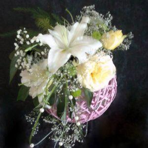 цветы, букет, лилии