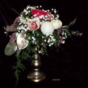 цветы, букет, зимний букет