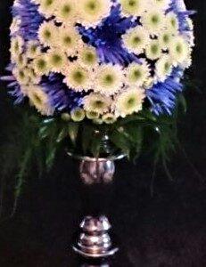 цветы, букет, цветочный мяч
