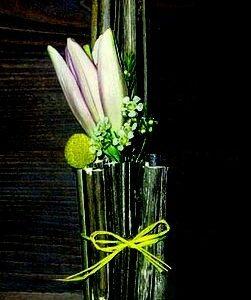 цветы, букет, лилии,