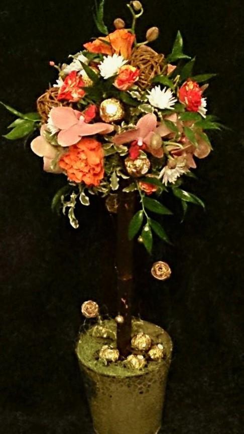 цветы, букет, , цветочное дерево
