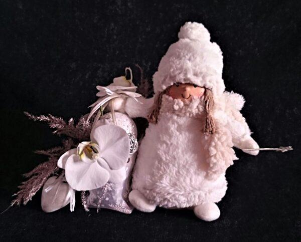 цветы, букет, ангел, зимний букет