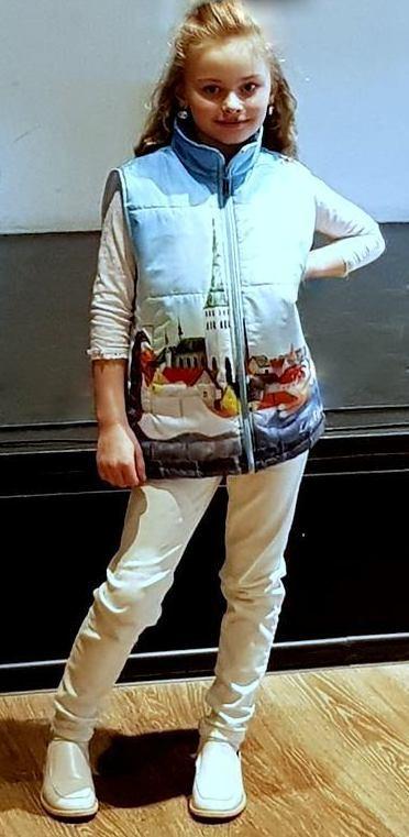 жилет жилетка детская одежда