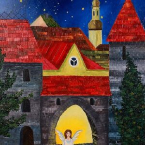 картина, живопись, ангел, Таллин