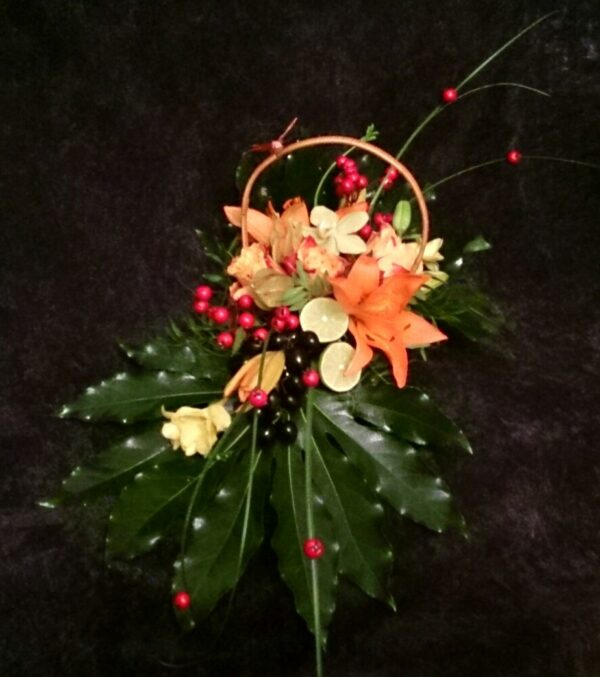 цветы, букет, корзинка с цветами