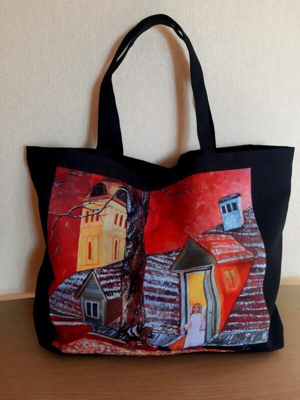 сумка, шопер, шоппер сумка из ткани