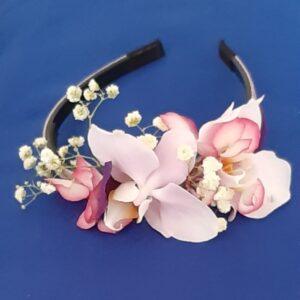ободок на голову с цветами