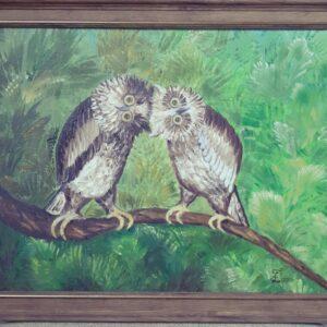 картина совы
