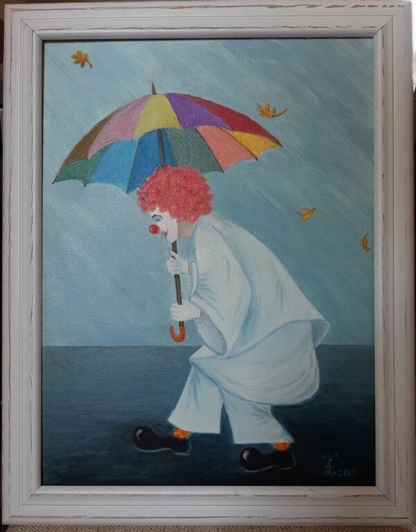картина клоун